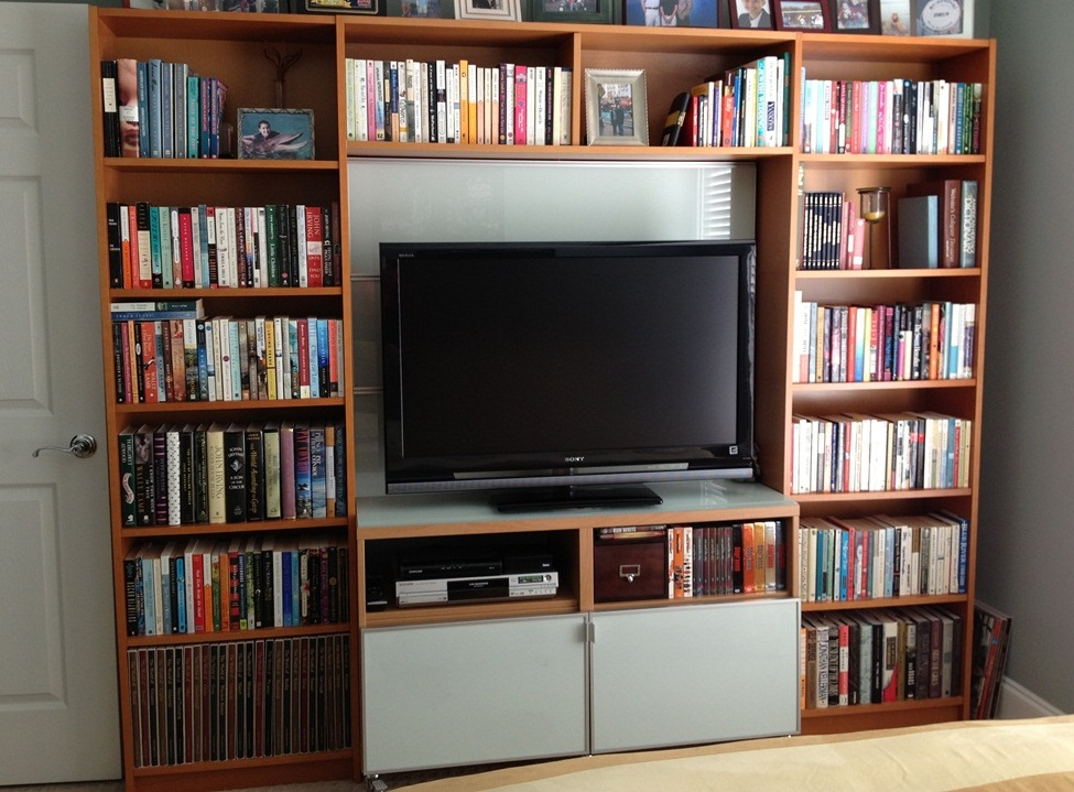 Billy Library To Entertainment Center Home Decoration Views