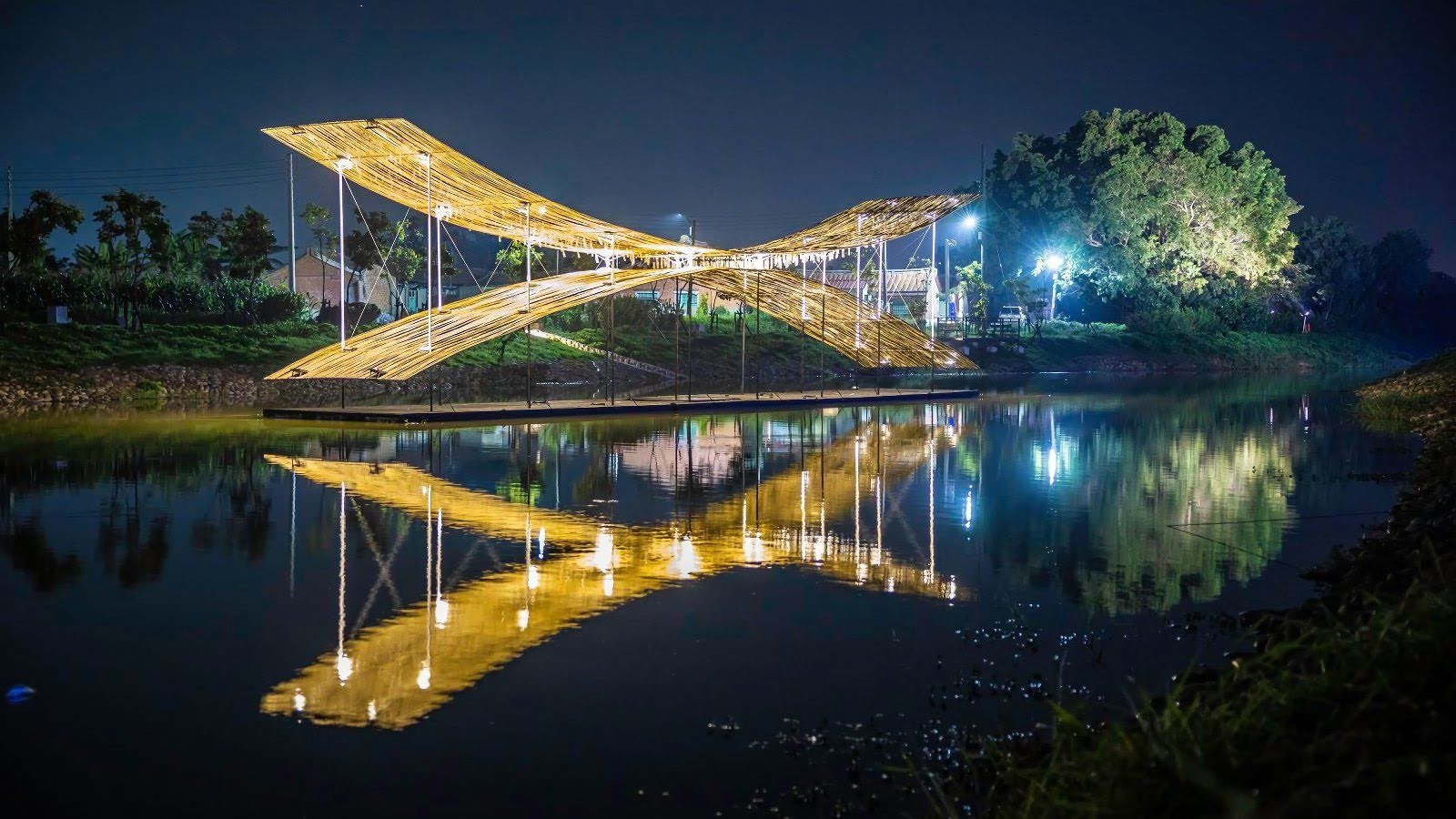 [活動] 2020月津港燈節『海市蜃樓』總導覽|一種港覺×一種直覺|1/18開幕夜點燈