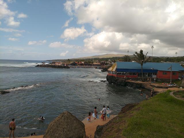 Playa Pea, Isla de Pascua