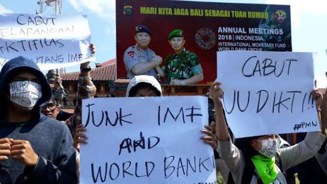 Demo Protes IMF-World Bank, Sebut Jokowi Anti Rakyat Miskin