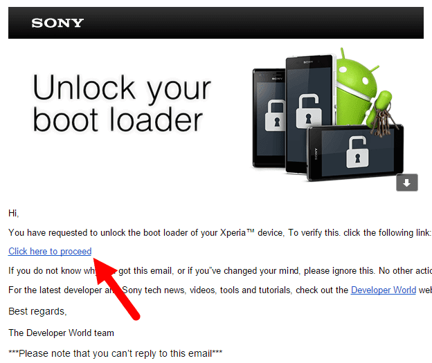 How To Unlock Bootloader Sony Xperia Devices