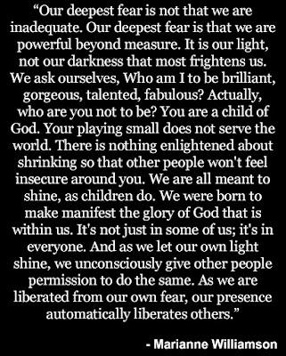 Marianne Williamson Inspiration