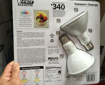 Feit Electric Par30 Spot LED Dimmable 75 watt Bulb - Conserve energy without compromising brightness