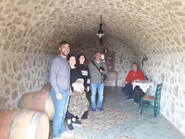 Οι Μελισσοκόμοι του ΔΙΕΚ Επιδαύρου στο Μουσείο Μελιού - Μέλισσας Ermionis Μπαϊρακτάρη