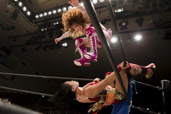 luta livre feminina japonesa