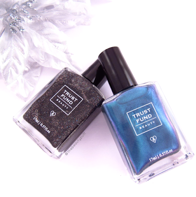 trust fund beauty holiday collection - the beauty puff