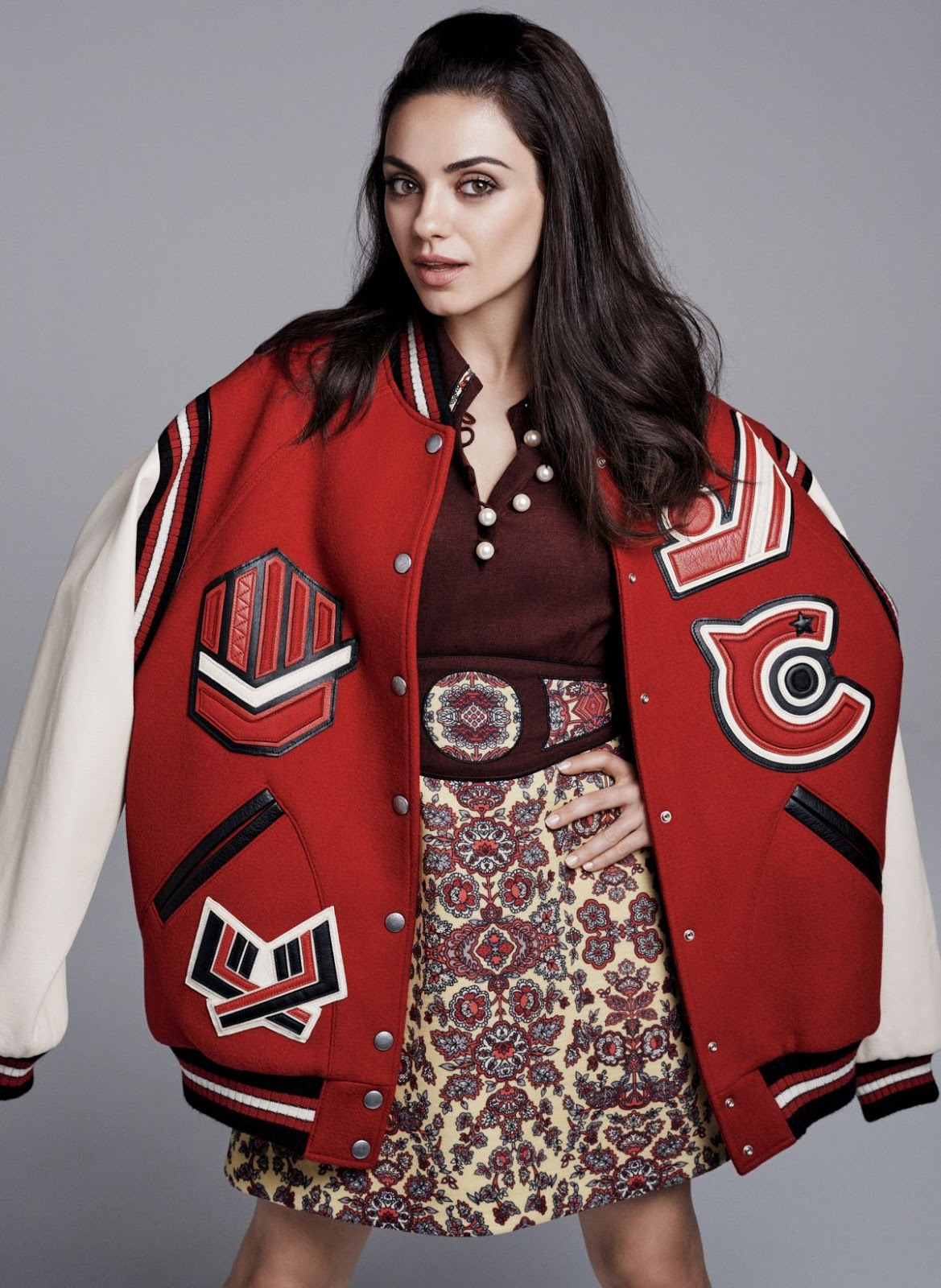 HQ Photos of Mila Kunis PhotoShoot for Glamour Magazine August