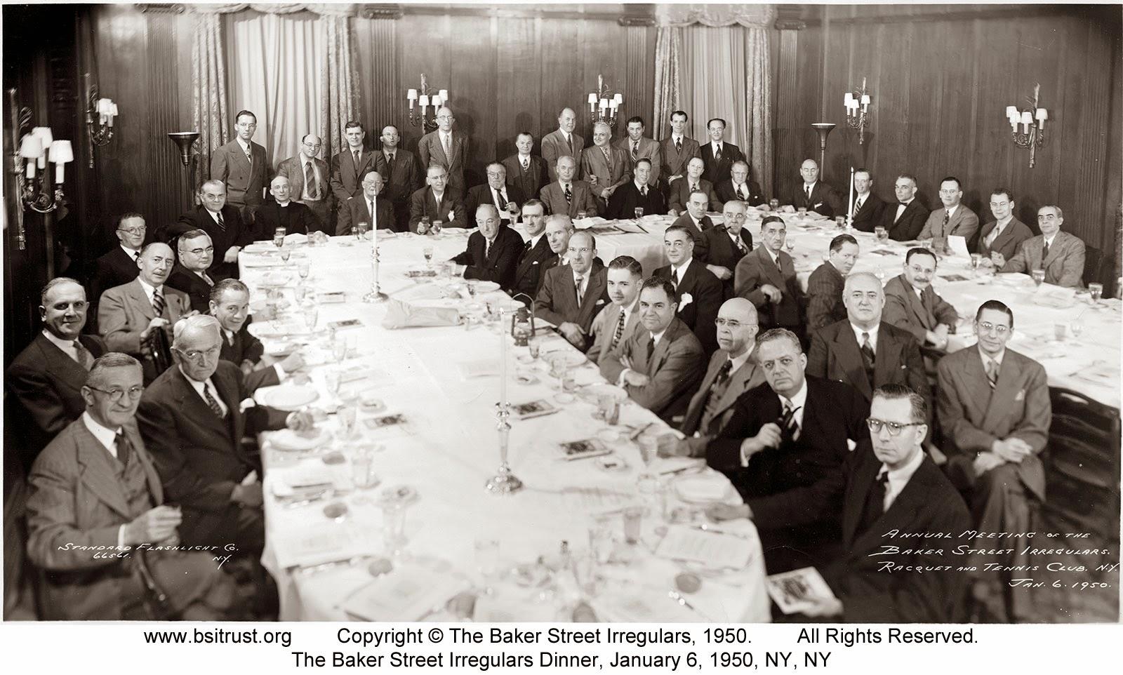 The 1950 BSI Dinner group photo
