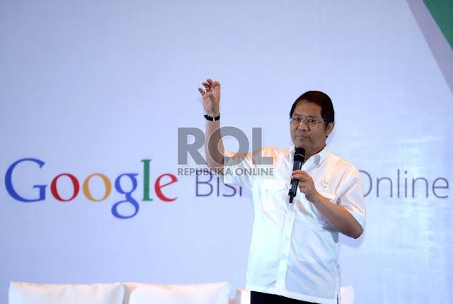 Menkominfo Terima Kunjungan Eksekutif Google