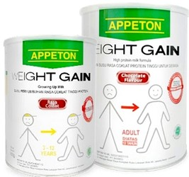 harga  Susu Appeton Weight Gain Adult