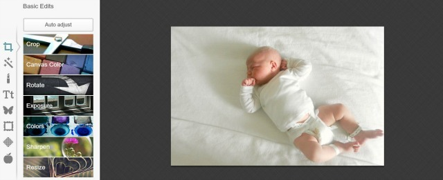 Making a Birth Announcement with PicMonkey
