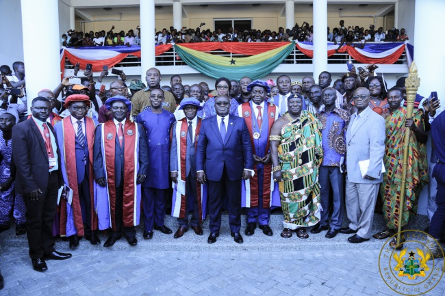 """Promote The Spirit Of Reconciliation"" – President Akufo-Addo To New UEW Vice Chancellor."