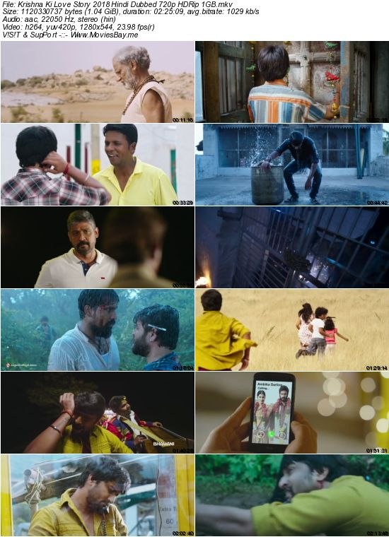 Krishna Ki Love Story 2018 Hindi Dubbed 720p HDRip 1GB