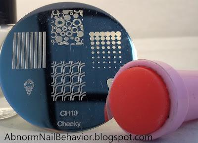 nail stamping plates dots
