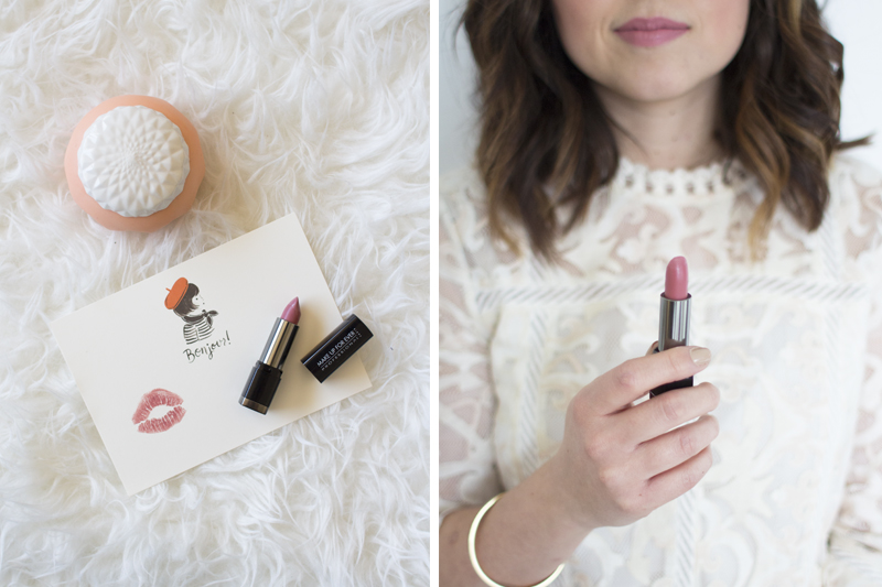 Lipsticks, candles and handwritten letters