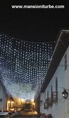 Lluvia de Luces en la Calle de Portugal