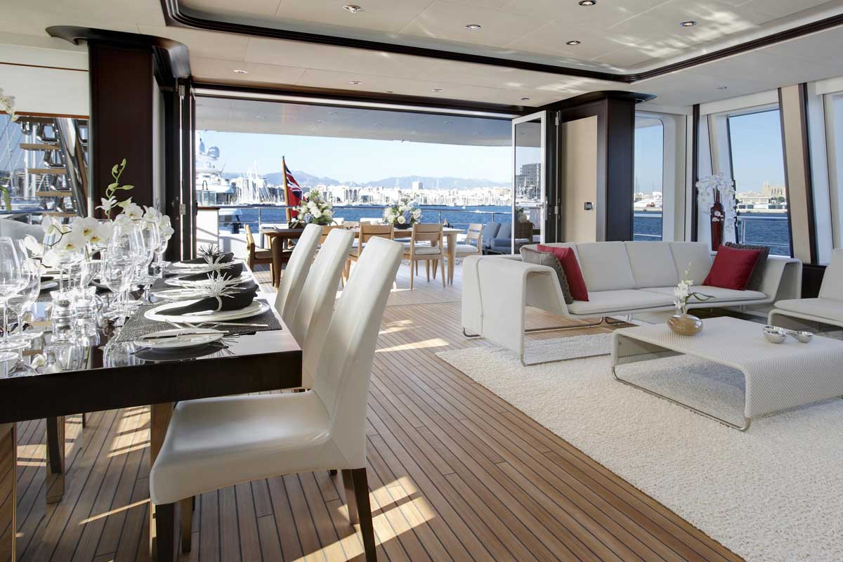If It's Hip, It's Here (Archives): 147 Foot Luxury Yacht ...