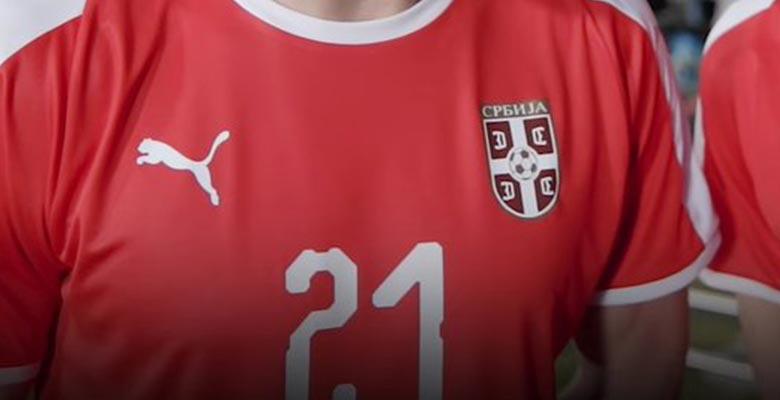 0d6d921dba5 Serbia 2018 World Cup Home Kit