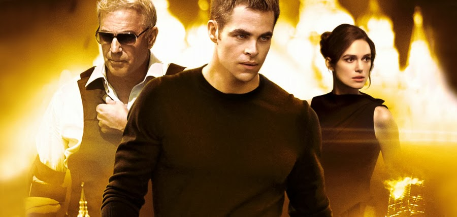 Kevin Costner, Chris Pine şi Keira Knightley în Jack Ryan: The Shadow Recruit