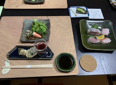 桜田温泉 夕食その1