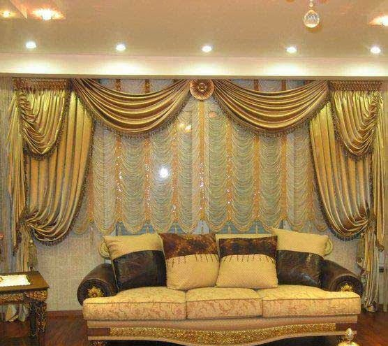 Modern Curtain Designs for Living Room Windows and Latest ...
