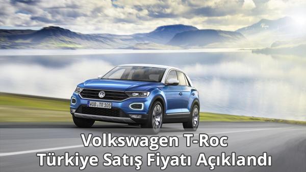 Volkswagen T-Roc Türkiye Satış Fiyatı
