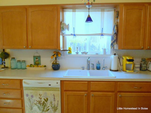 Little Homestead In Boise: Kitchen/Bath Re-Do One Year Later, Instant Asian Dinner, Banana Bread