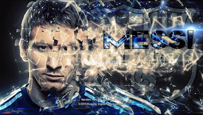 PES 2016 Leo Messi Startscreen by GgBlues PES