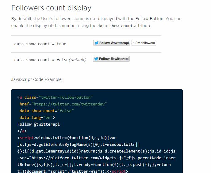 Bagai mana cara Membuat Twitter Follow Button Pada Blog