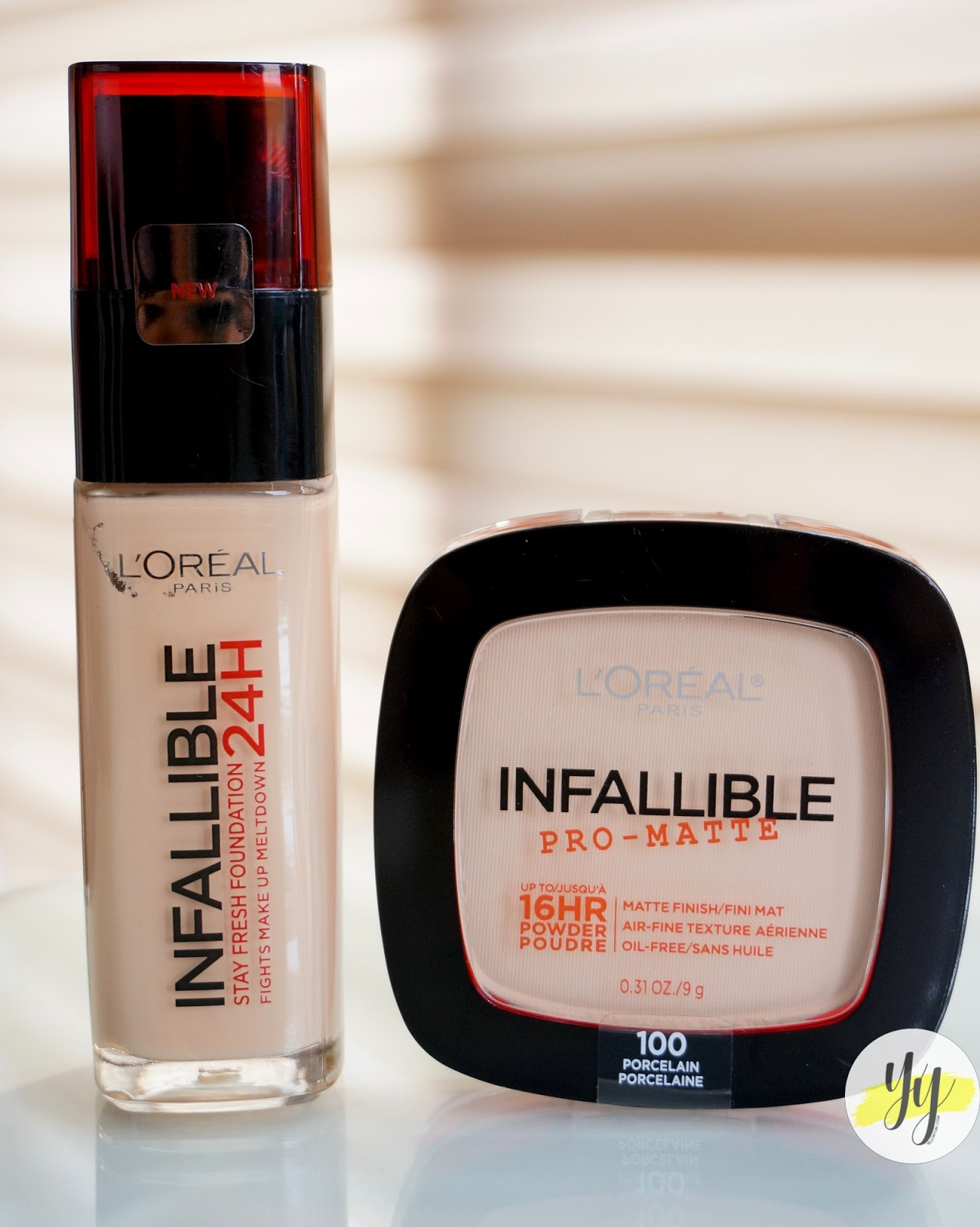 Loreal Paris Makeup Powder Infallible Pro Matte Porcelain Daftar Lamp039oreal Total Cover Foundation I Got The 24hour Stay Fresh In 120 Vanilla Which Is A Tad