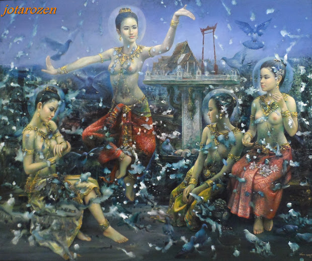 Thailand Contemporary Art Paintings