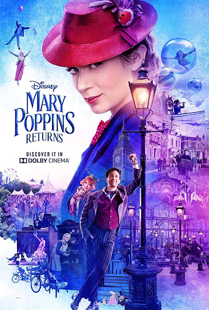 Mary Poppins Returns (2018) Bluray Subtitle Indonesia