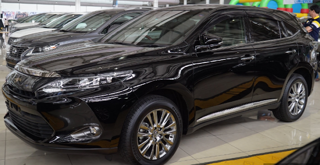 2018 Toyota Harrier Review