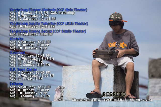 respeto cinemalaya schedule
