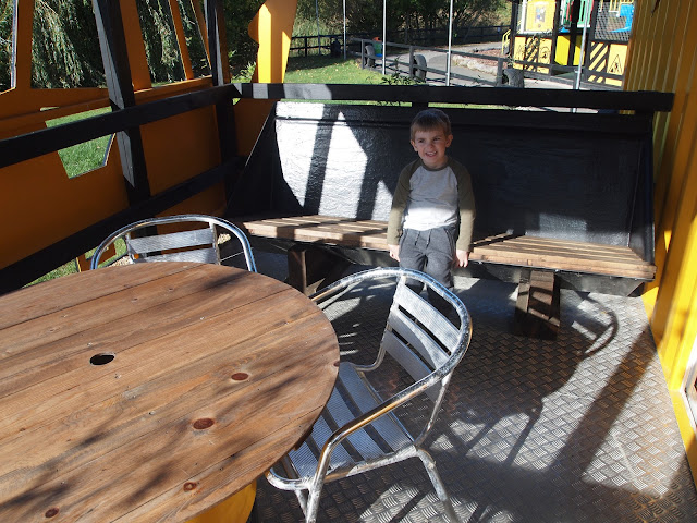JCB Cabin at Gulliver's Land, MK