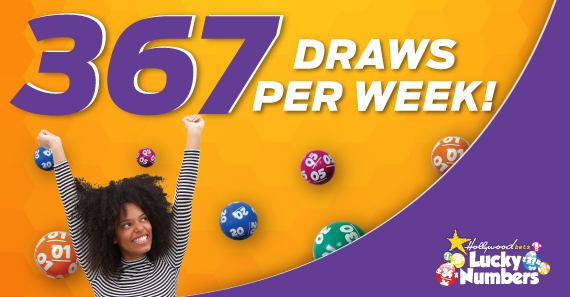367 Lotto Draws Available Every Week to bet on with Hollywoodbets and Lucky Numbers