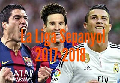 Senarai Penjaring Gol La Liga Sepanyol Musim 2017/2018