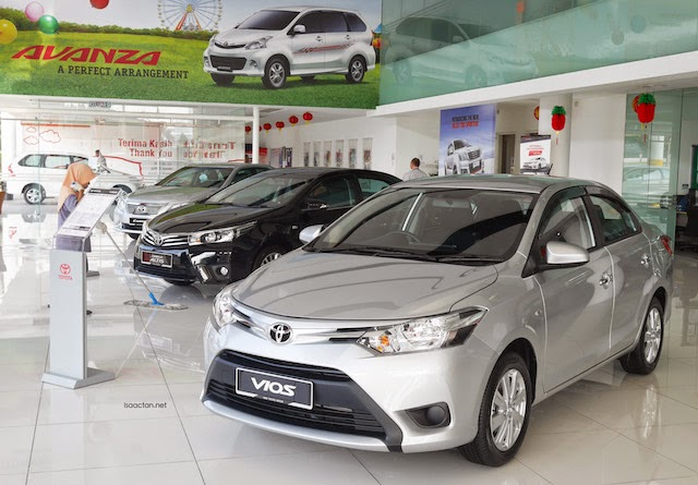 Collection from the Toyota Centre in Shah Alam