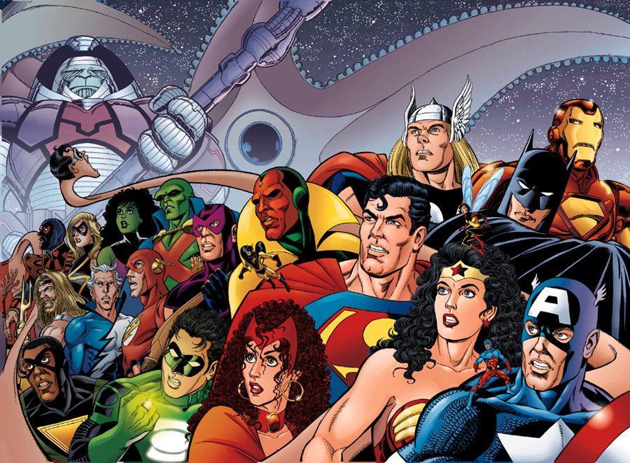 Antimonitor HQs: Especial Crossovers Marvel e DC II: Liga da ...