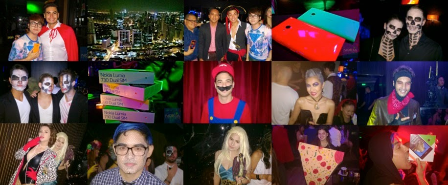 Lumia 730 shines at costume party