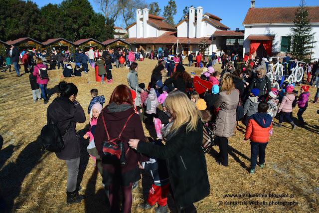 Τα σχολεία της Κατερίνης στο Χριστουγεννιάτικο Χωριό του Κόσμου.