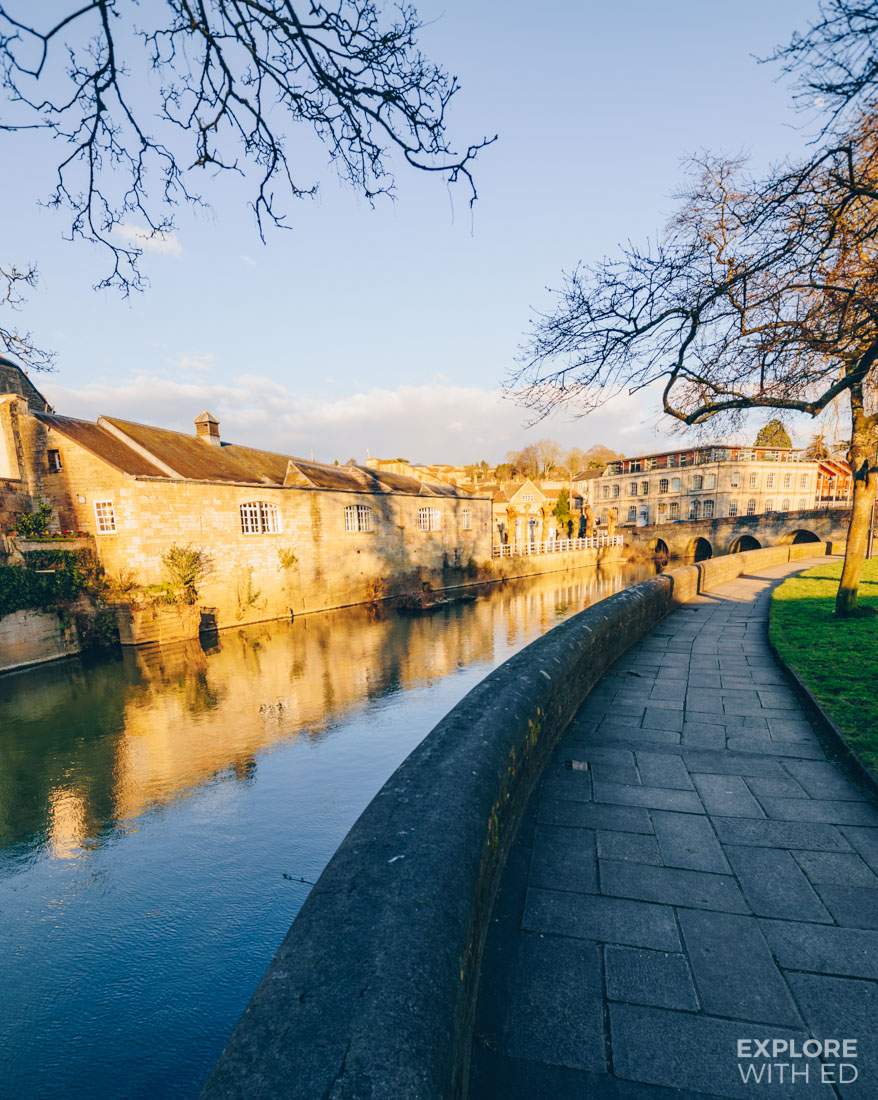 River Avon in Bradford-on-Avon