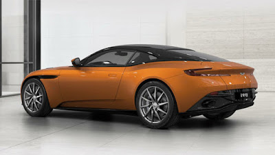 Aston Martin with aluminium structure