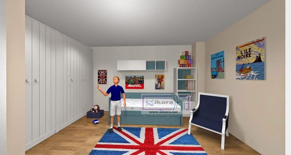 Ideas para decorar la casa con poco dinero - Como decorar una habitacion juvenil femenina ...
