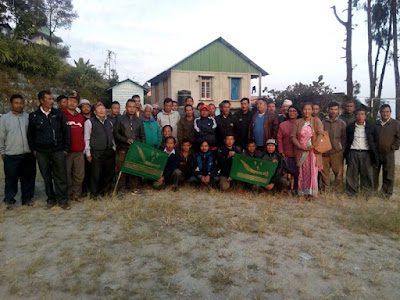 Gorkha National Liberation Front meeting in Lathpanchor