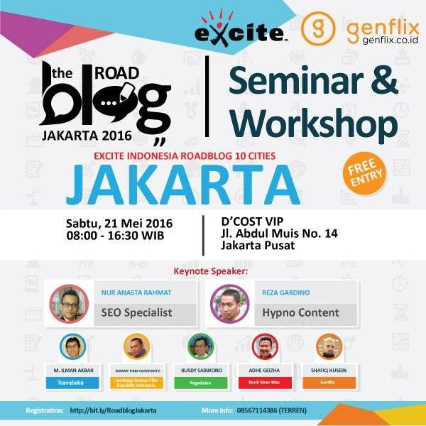 Serunya The Road Blog Jakarta 2016