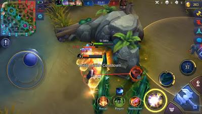 Skill Ketiga/ Ultimate (Fist Crack) Hero Badang Mobile Legends