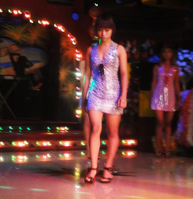 Yangon nightclub girl