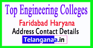 Top Engineering Colleges in Faridabad Haryana