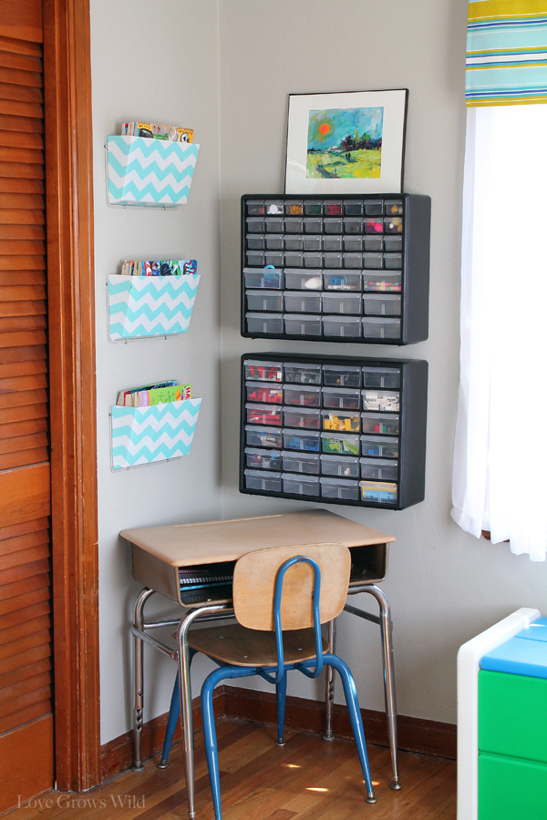 8 Kids Storage And Organization Ideas: Playroom Makeover Room Reveal